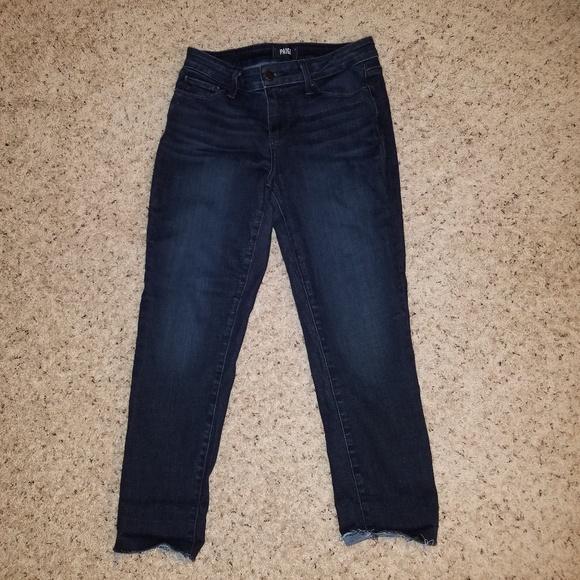 PAIGE Denim - PAIGE Skyline Skinny Crop Jeans  Size 29